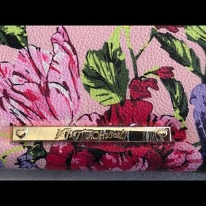 Betsey Johnson Bags - Large Betsy Johnson wristlet